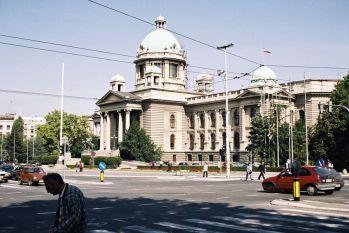Plac Nikola Pasica - Parlament