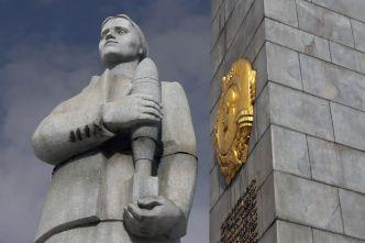 "Kutuzowski prospekt-Pomnik ""Moskwa Miasto- Bohater""- просп. Кутузовский-Памятник ""Москва Город-Герой"""