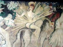 Moulin Rouge-malowidła w holu wejściowym
