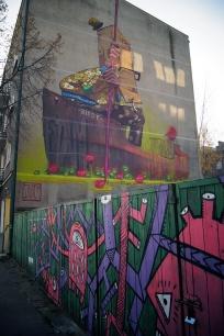 Gdyński Street-art- ul. Stefana Żeromskiego