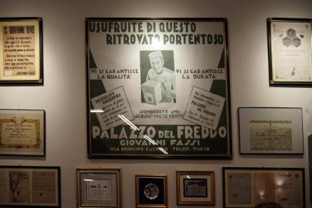 W lodziarni Giovanni Fassi- Via Principe Euggenio