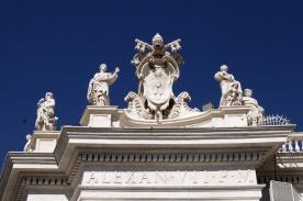 Rzeźby na murach Bazyliki
